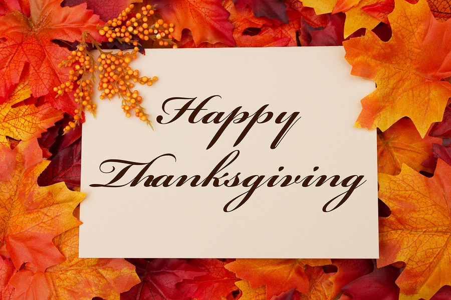 Happy Thanksgiving from One Greenway!