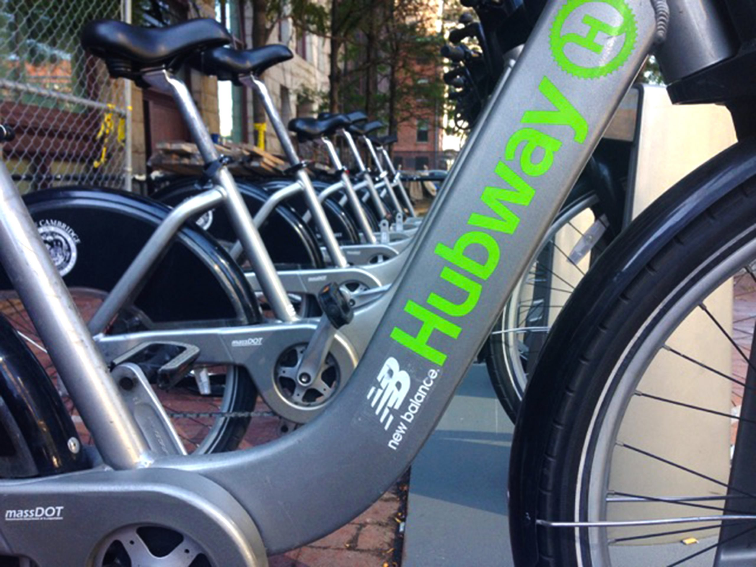 Hubway from One Greenway