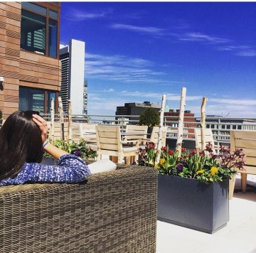 Welcome Spring at One Greenway's Suite 1100